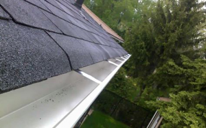 cleaned eaves